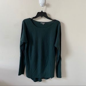 Vince Green Wool/Cashmere Sweater- Size S